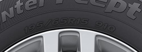 Типоразмер шины