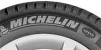 Торговая марка Michelin. Перед брендом размещен логотип.