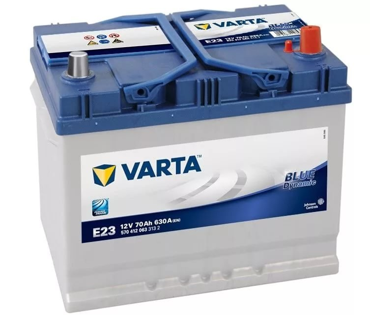 Аккумулятор Varta E23 Blue Dynamic 70 А/ч, о/п, 630А