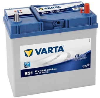 Аккумулятор Varta B31 Blue Dynamic (выс. яп.кл) 45 А/ч, о/п, 330А