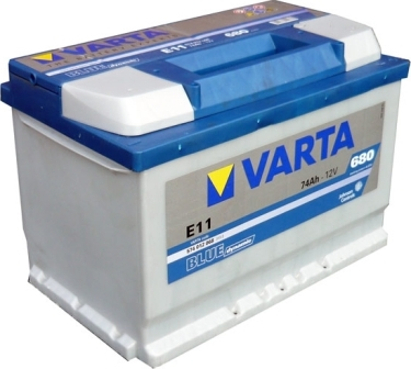 Аккумулятор Varta E11 Blue Dynamic 74 А/ч, о/п, 680А