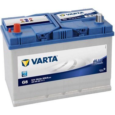 Аккумулятор Varta G8 Blue Dynamic (выс.) 95 А/ч, п/п, 830А