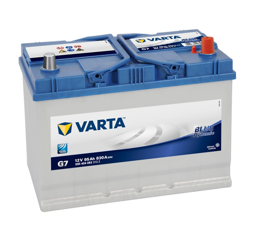 Аккумулятор Varta G7 Blue Dynamic (выс.) 95 А/ч, о/п, 830А